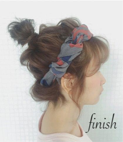 買い物デートにオススメのヘアスタイルarrenge3
