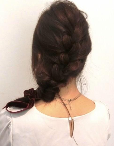 不器用さんにぴったり☆簡単可愛い編み込みヘアスタイル20選