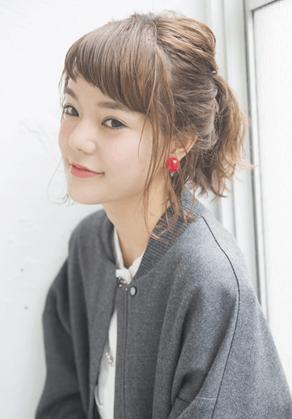 超簡単なポニーテールのおすすめヘアスタイル☆18