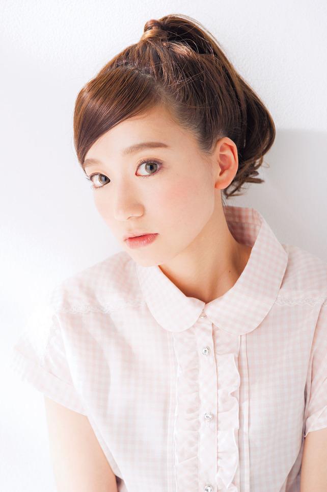 超簡単なポニーテールのおすすめヘアスタイル☆17