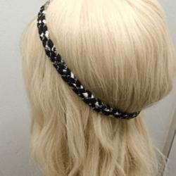 カチュームを使ったカジュアル&ルーズなアップヘア☆1