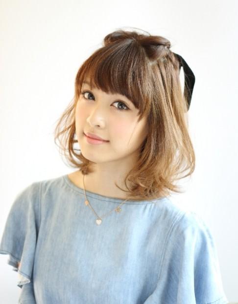 簡単かわいいハーフアップのおすすめヘアスタイル24選☆