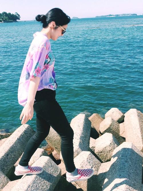海デートにぴったりなヘアスタイル2