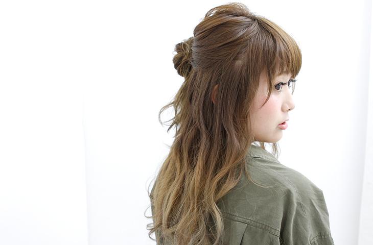 立体的メイクに似合うヘアスタイル5選hair3