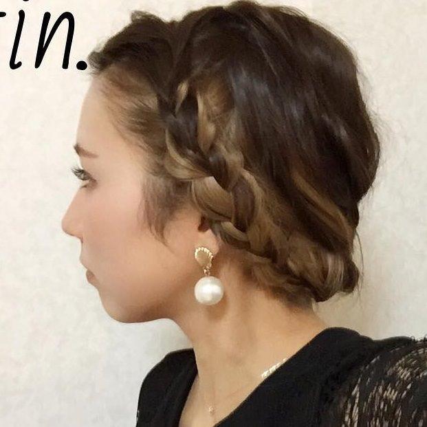 寒色系メイクに似合うヘアスタイル髪型3
