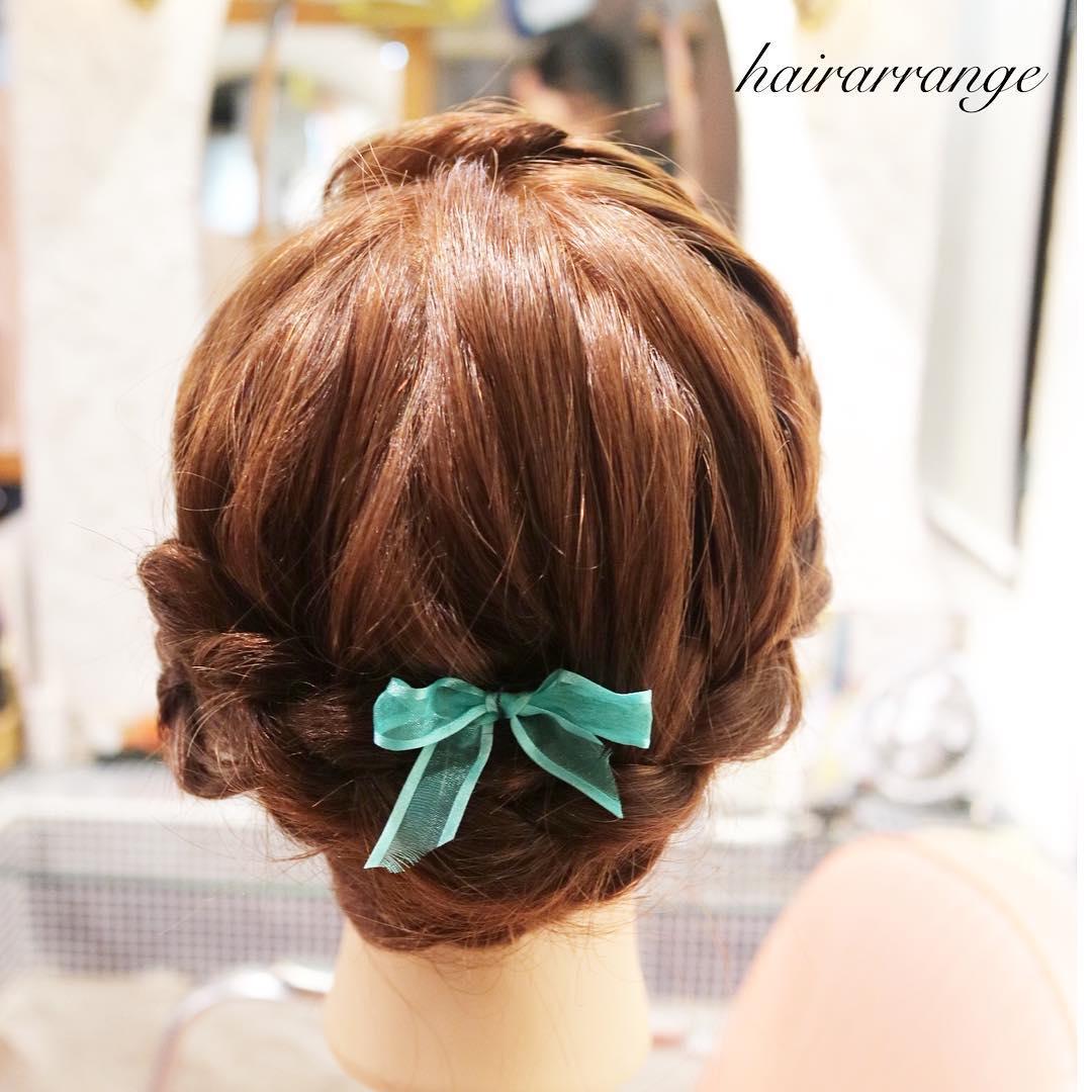 伸ばしかけの髪におすすめのヘアスタイル4