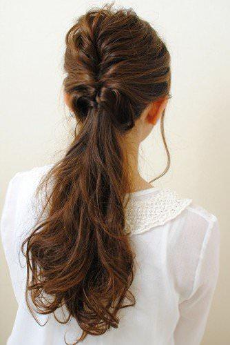 働く女子必見!忙しくても簡単に手直ししやすいヘアスタイル2