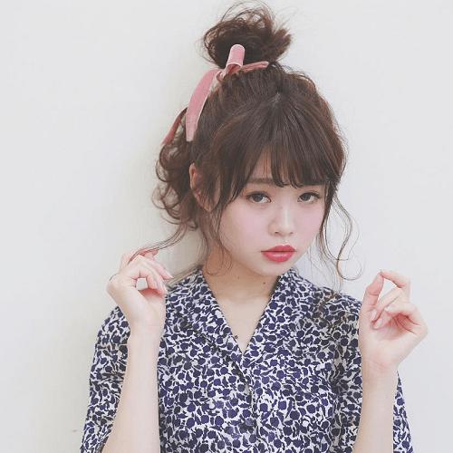ヘアアレンジ初心者さん向けヘアスタイル4