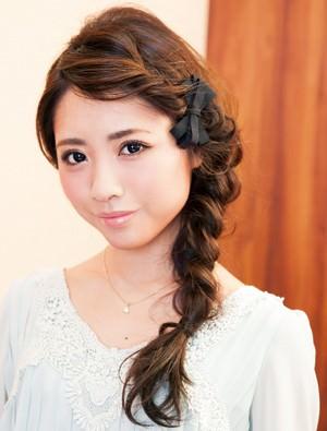 小顔効果のあるヘアスタイル1-1