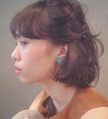 働く女子必見!忙しくても簡単に手直ししやすいヘアスタイル3