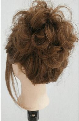 浴衣のカラー別におすすめなヘアスタイル髪 ピンク