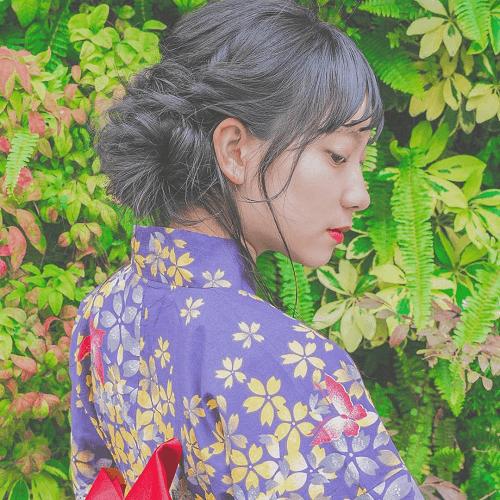 【浴衣に似合うヘアスタイル・髪型】花火大会やお祭りにピッタリ!5