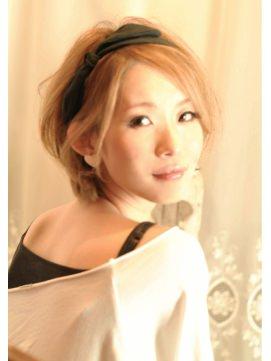 小顔効果のあるヘアスタイル4-4