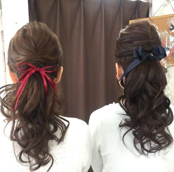 双子コーデにオススメなヘアスタイル3