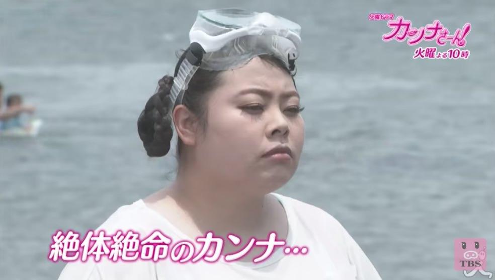 カンナさーん!×三つ編みシニヨン