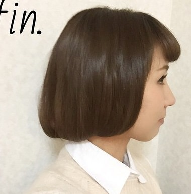 髪が長い人でも大丈夫!偽ボブヘアTOP