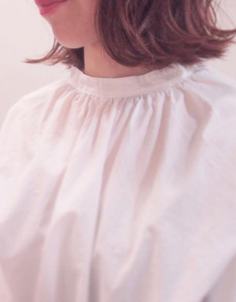 ハネを生かしてつくるヘアスタイル