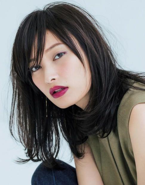 大政絢さん風☆大人キレイなヘアスタイル・髪型