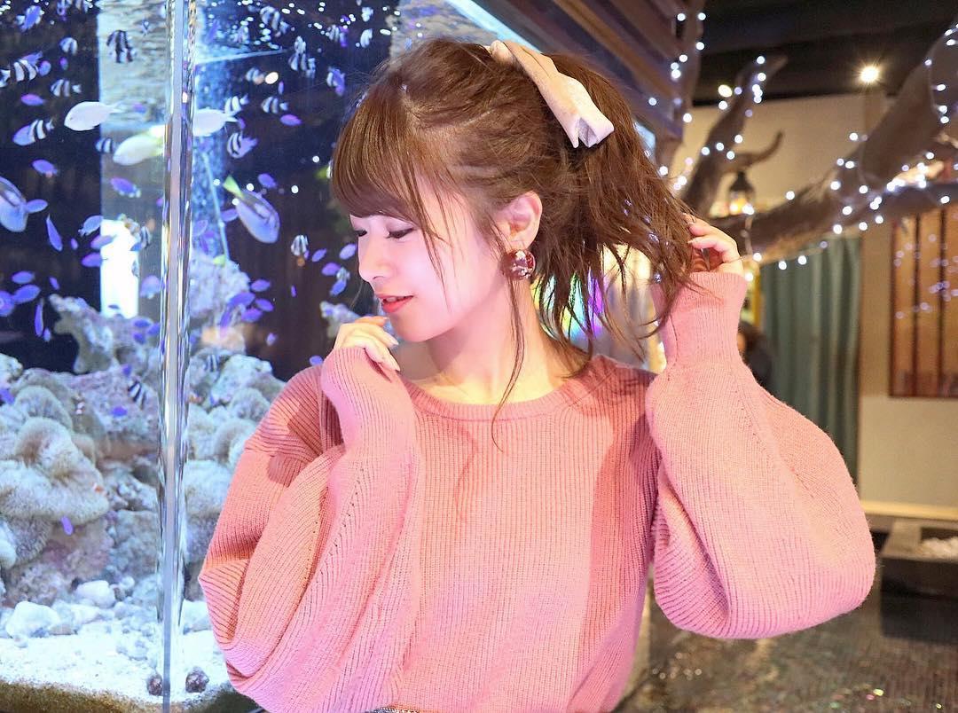 クリスマス×ポニーテール
