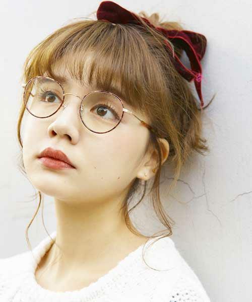 金縁&銀縁メガネに合うヘアスタイル2