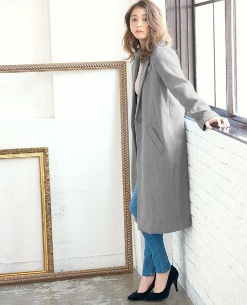 ロングコートに合うヘアスタイル