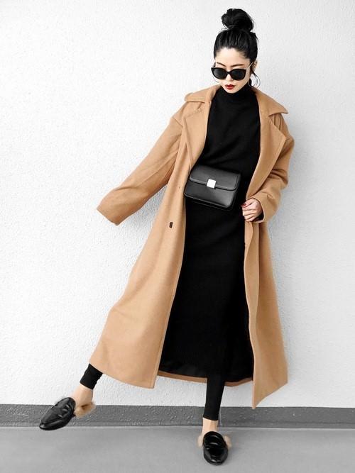 ロングコートに合うヘアスタイル5