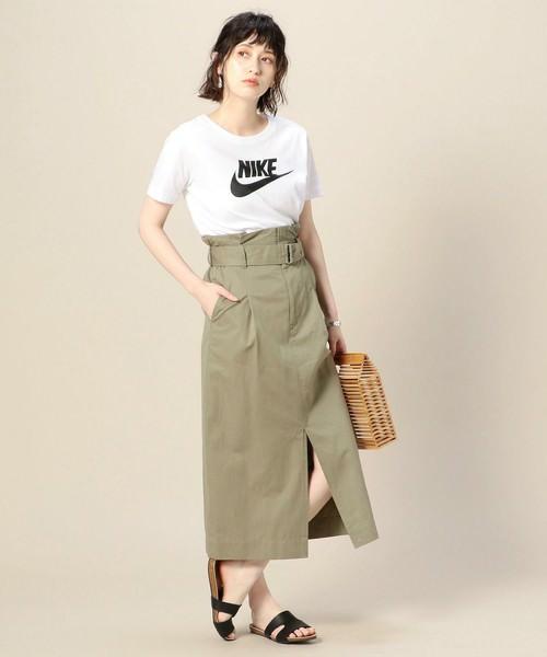 夏本番☆ロゴTシャツに合うヘアスタイル1