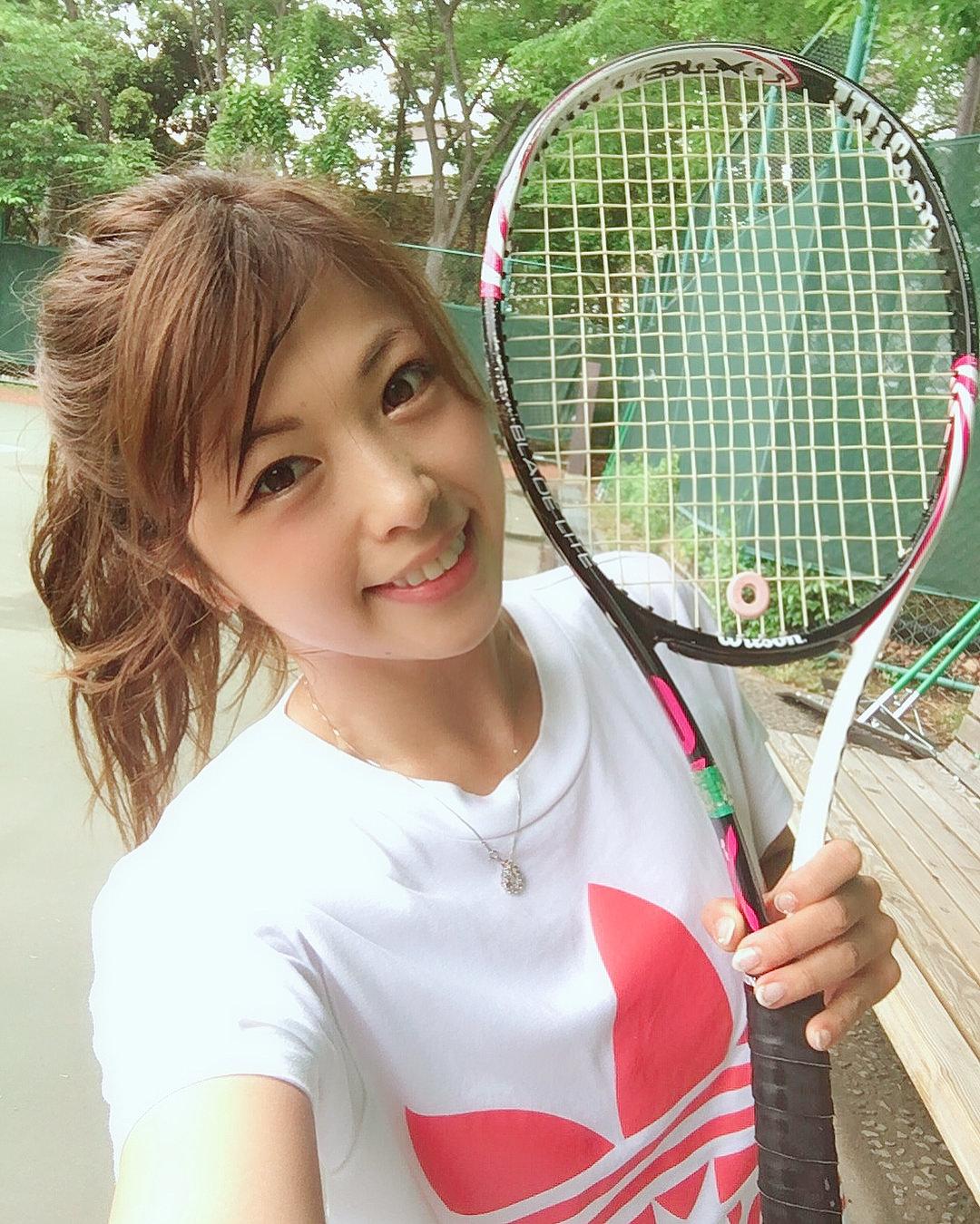 テニス×王道ポニテ