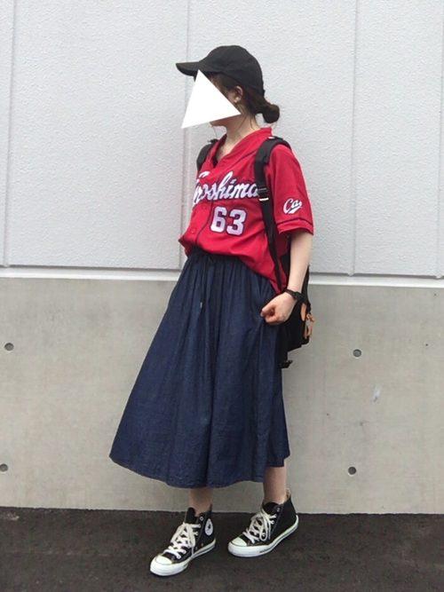 彼氏と野球観戦デートに行きたくなるヘアスタイル1