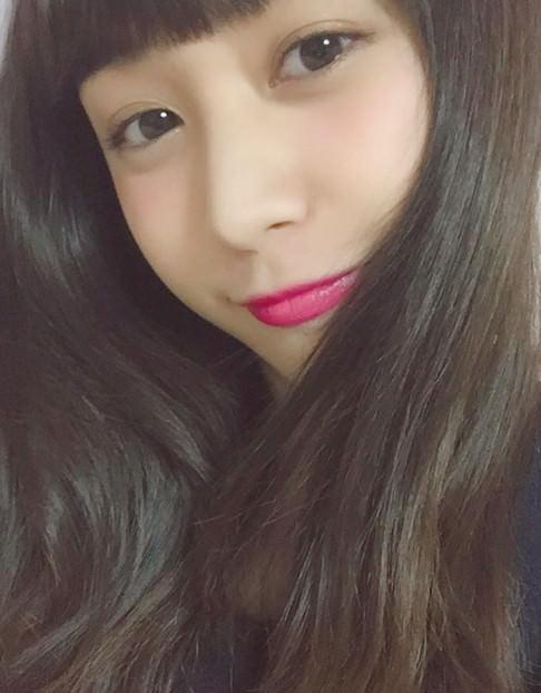 青みピンクに似合うヘアスタイル
