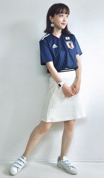 サッカー観戦にピッタリのヘアスタイル☆
