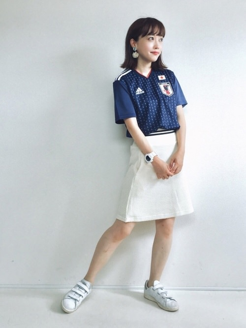 サッカー観戦にピッタリのヘアスタイル☆TOP