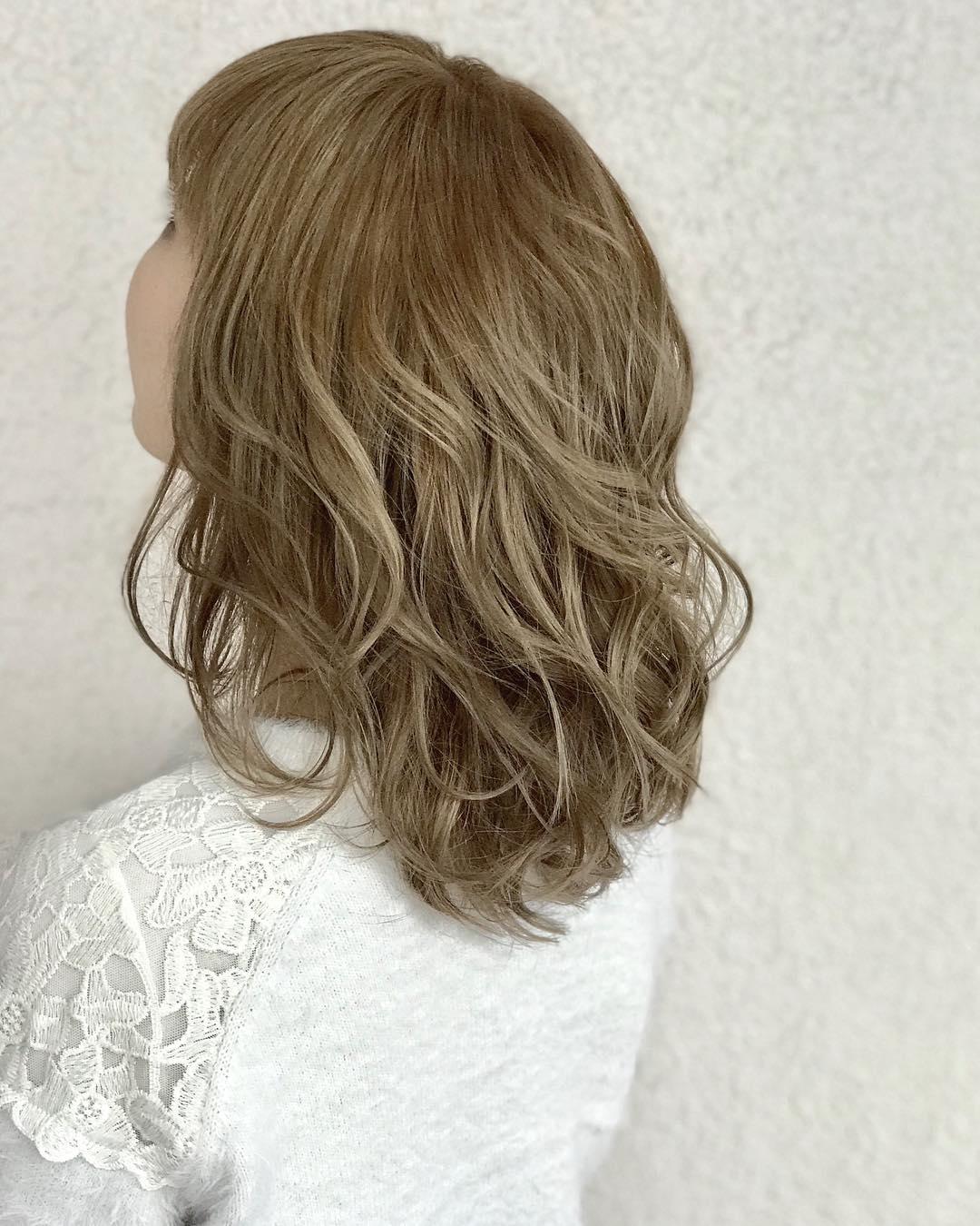 明るい髪色でもギャルっぽくならない!品のある明るめカラー6