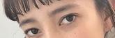 愛嬌たっぷり太眉に似合うヘアスタイル1メイクポイント