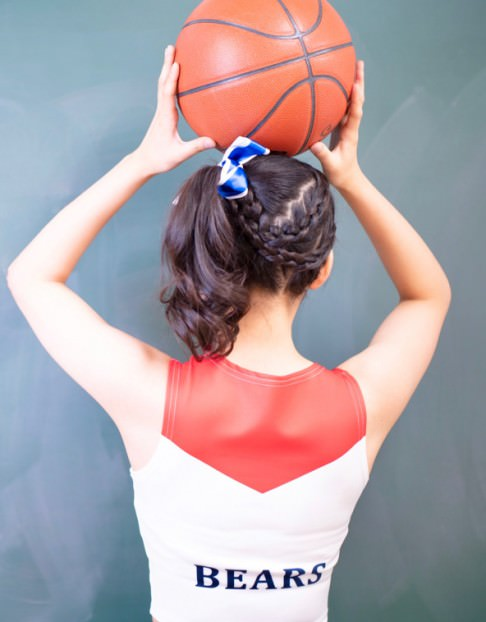 友達とのスポッチャやランニングに!スポーティなのにかわいいヘアスタイル