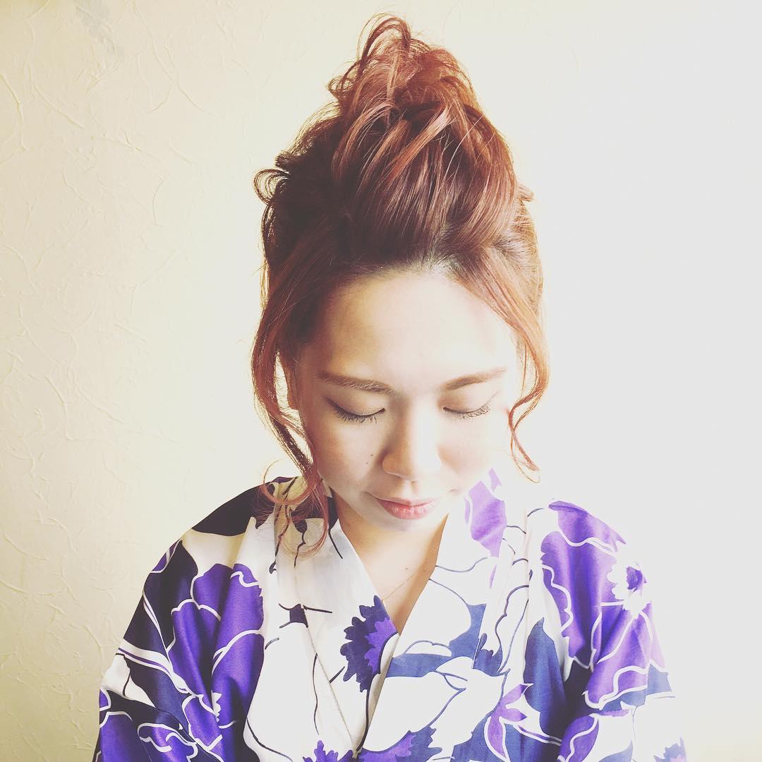 暑い夏☆でこだしに合うヘアスタイル!2