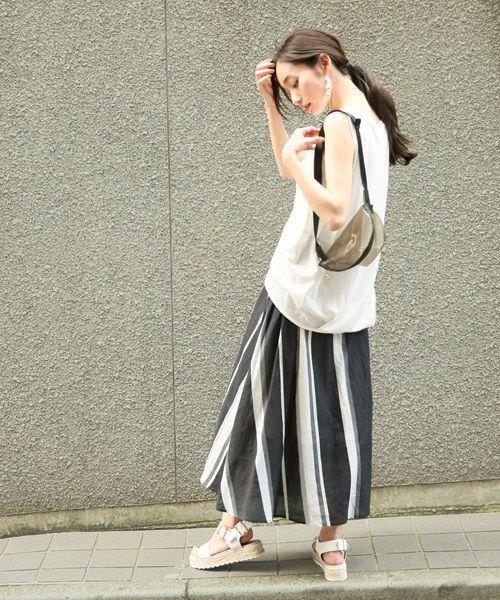 カジュアルも可愛いも♪ひらひらのロングスカートにあうヘアスタイル2