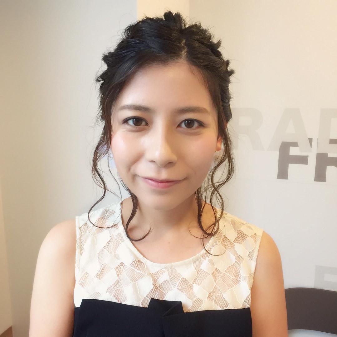 暑い夏☆でこだしに合うヘアスタイル!9