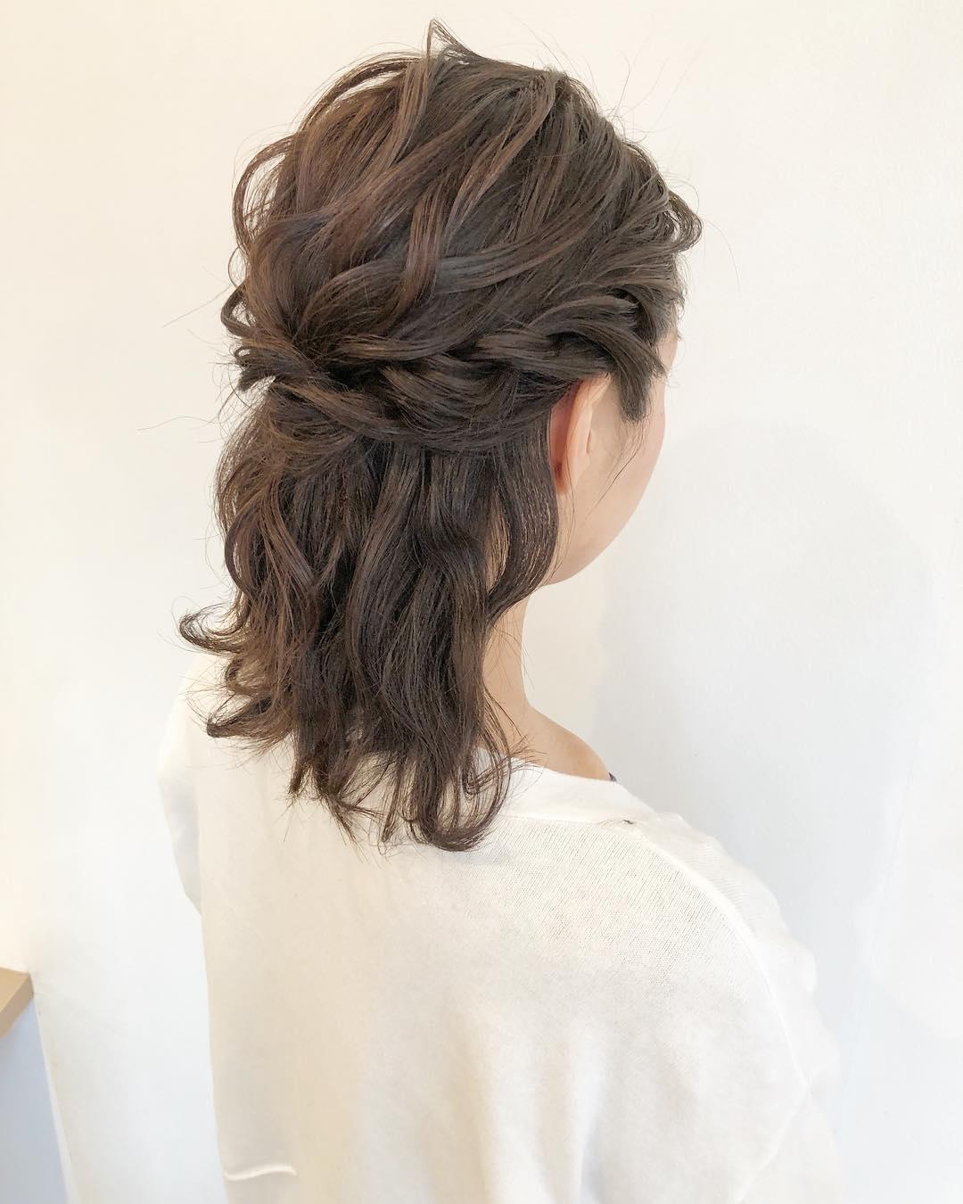 トレンドのヘアスタイル1