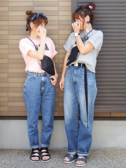 LIVEで友達と双子コーデでやりたいヘアアレンジ1