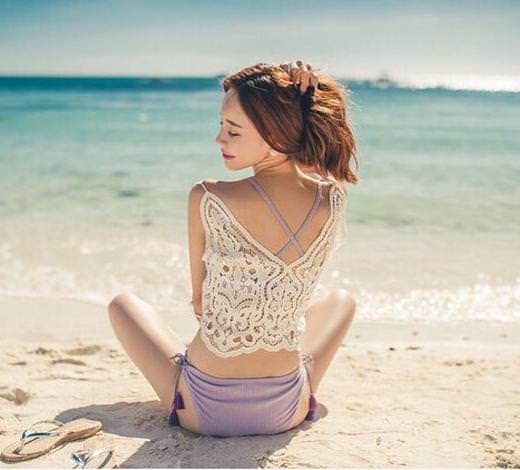 プールや海に最適!濡れても可愛いヘアスタイルや髪型3