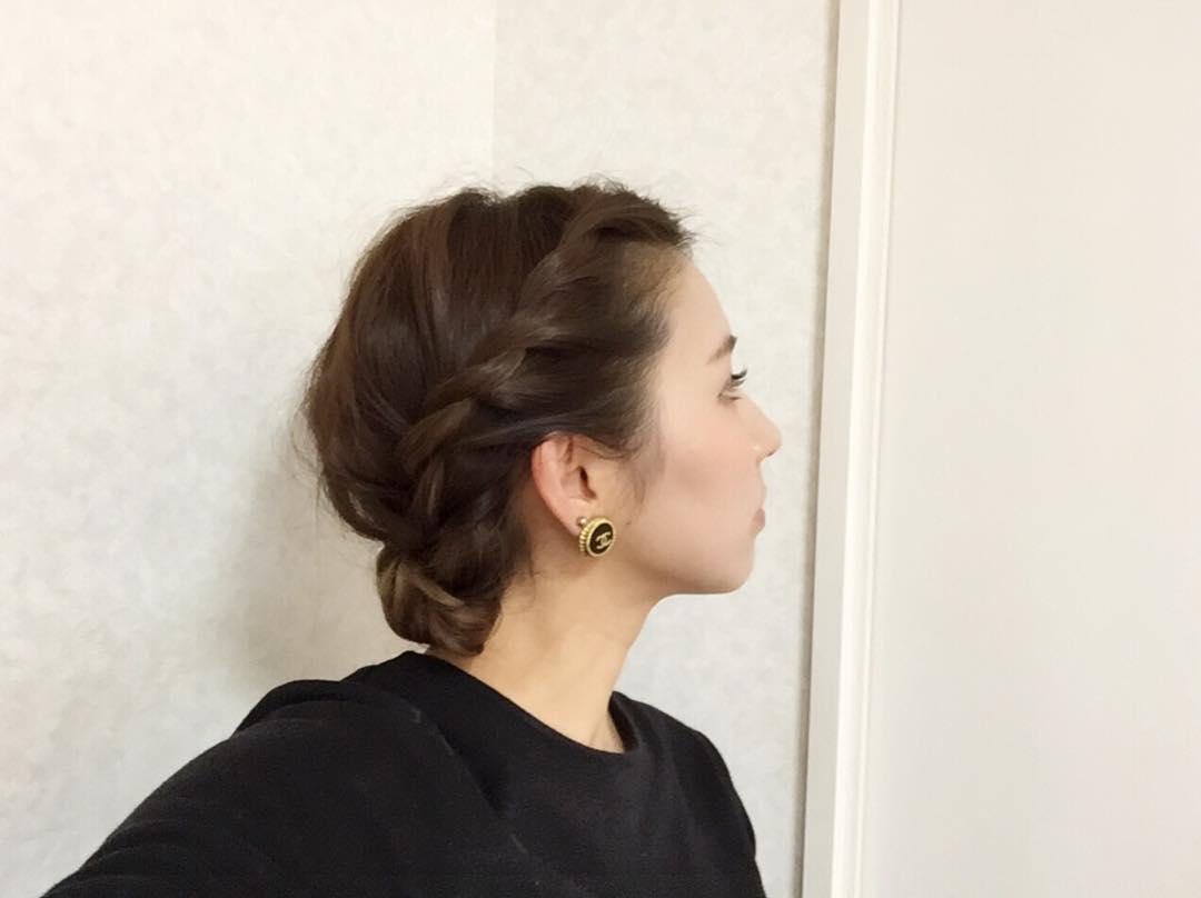 暑い夏☆でこだしに合うヘアスタイル!6