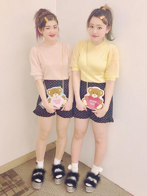 LIVEで友達と双子コーデでやりたいヘアアレンジ3