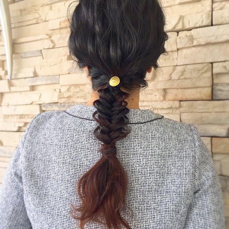 トレンドのヘアスタイル2