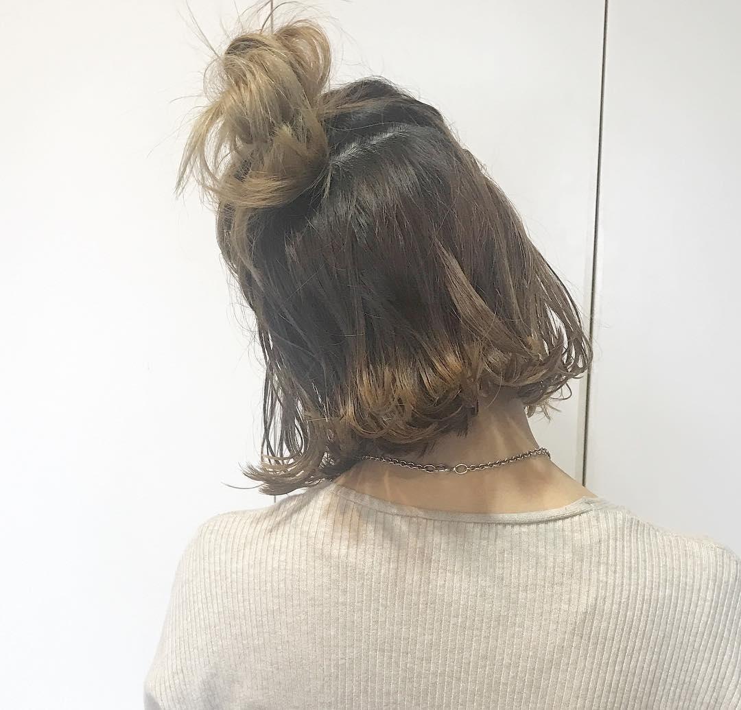 トレンドのヘアスタイル4