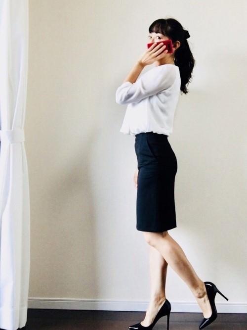 オフィスカジュアルで活躍☆パンプスに合うヘアアレンジ4