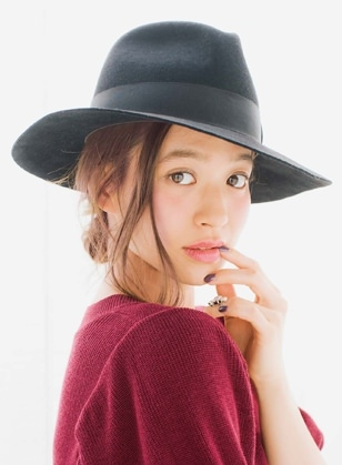 お洒落すぎっ!『ゆる~く&くしゅっ』なメッシーバンアレンジ60選☆7