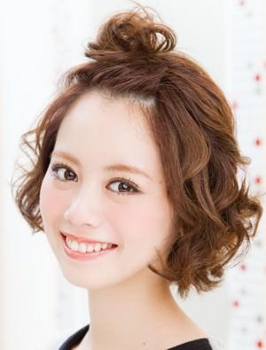 お洒落すぎっ!『ゆる~く&くしゅっ』なメッシーバンアレンジ20選☆6