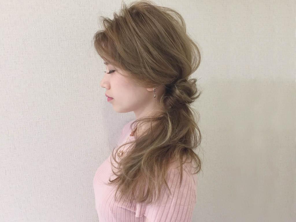 お洒落すぎっ!『ゆる~く&くしゅっ』なメッシーバンアレンジ70選☆2