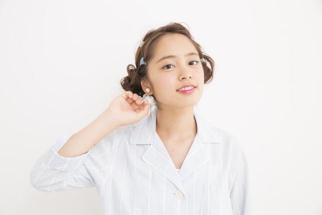 お洒落すぎっ!『ゆる~く&くしゅっ』なメッシーバンアレンジ70選☆10